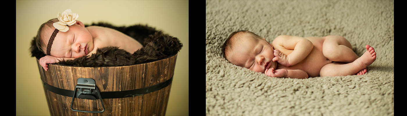 newborn montage option two